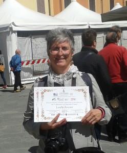 Lorella Forconi Attestato di Partecipazione Creare 2016 - Pietrasanta (LU)