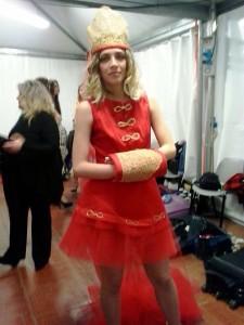Mod. Valentina - terzo abito in silata